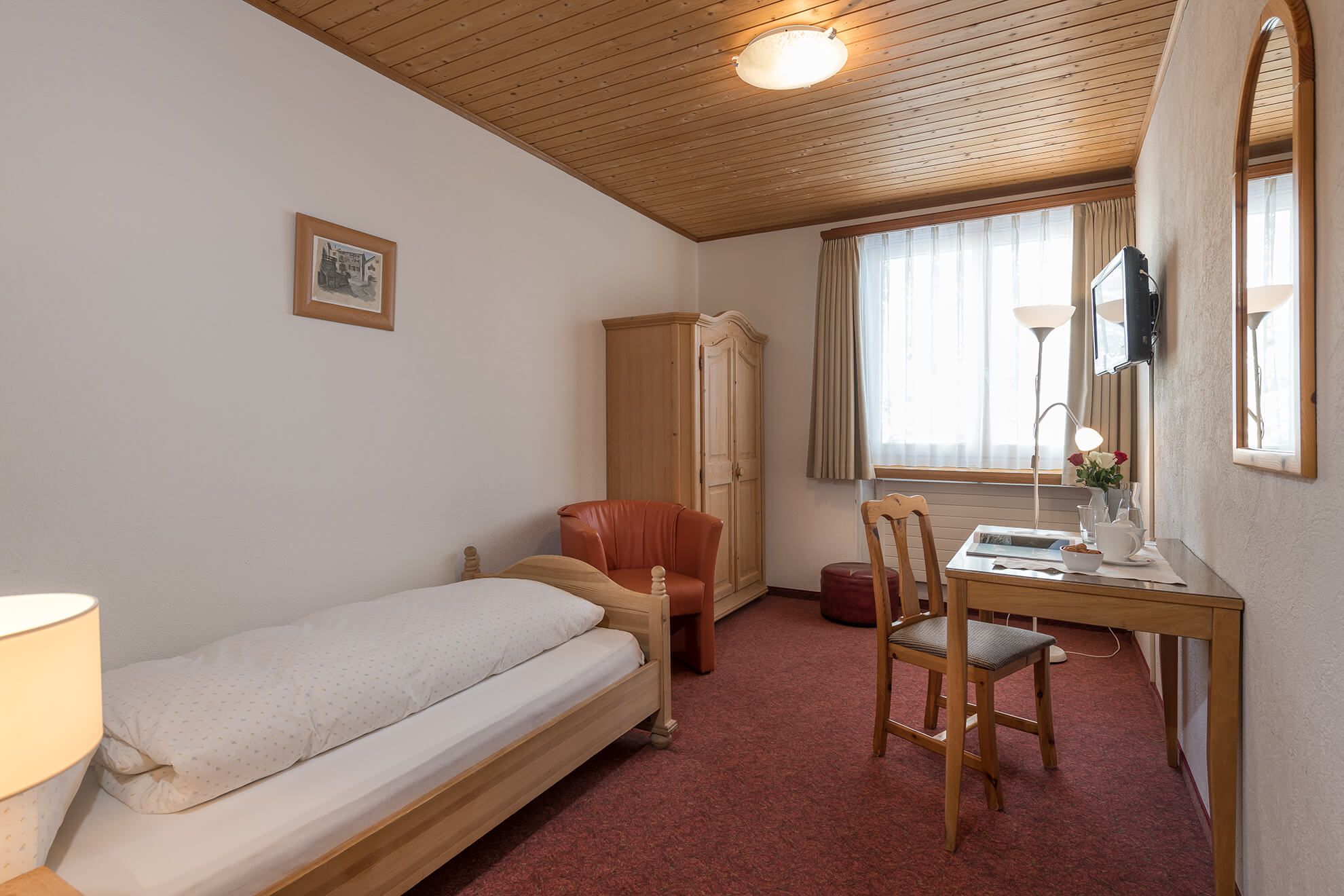 Einzelzimmer Standard Nord